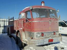 Salvage MACK FIRE TRUCK